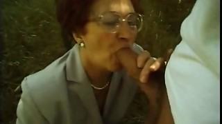 Blowjob,Grannies,Fucking,Mature,Nylon,Outdoor,Redhead,Stockings