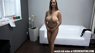 Amateur,Big Boobs,Big Cock,Casting,Czech,Doggystyle,Homemade,Oiled,POV,Reality