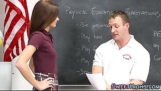 Babe,Big Ass,Big Boobs,Big Cock,Cumshot,Fucking,School,Small Tits,Teen,Uniform