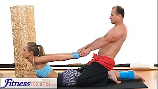 Babe,Blowjob,Czech,Gym,Panties,Yoga