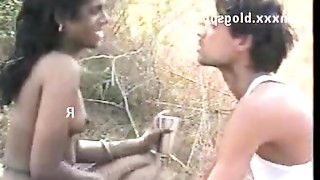 Couple,Exotic,Indian,Outdoor