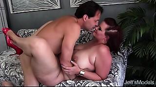 Ass to Mouth,BBW,Blowjob,Chubby,Cumshot,Fucking,Redhead