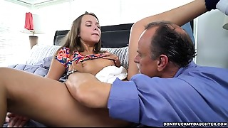 Daughter,Fucking,Old and young,Petite,Teen