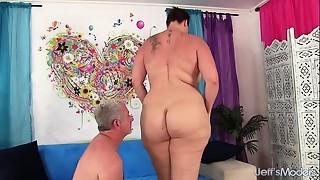 BBW,Big Ass,Big Boobs,Brunette,Chubby,Fucking,MILF