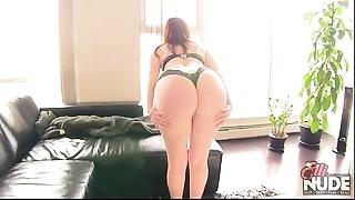 BBW,Big Ass,MILF,Panties,Redhead,Strip