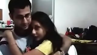 Couple,Homemade,Indian