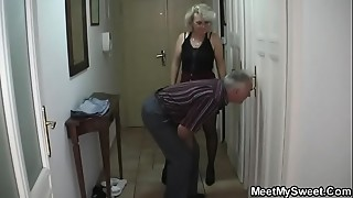 Grannies,Fucking,Mature,MILF,Old and young,Stepmom,Teen,Threesome