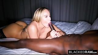 Big Boobs,Big Cock,Black and Ebony,Blonde,Blowjob,Creampie,Doggystyle,Fucking,Interracial,Spanking
