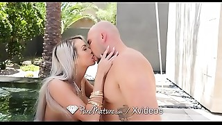 Anal,Big Boobs,Blonde,Blowjob,Facial,Fucking,Mature,MILF,Outdoor,Pool