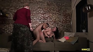 Big Ass,Big Boobs,Blowjob,Brunette,Couple,Doggystyle,Facial,Girlfriend,Grannies,Fucking