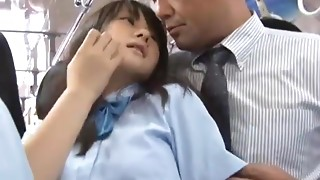 Asian,Babe,Bus,Fucking,Public Nudity,School,Teen,Uniform