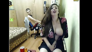 Amateur,Big Boobs,Brunette,Clit,Homemade,Masturbation,Shaved,Solo,Teen,Webcams