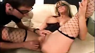 Blonde,Fucking,Mature,MILF,Old and young,Slut,Stepmom,Stockings,Teen