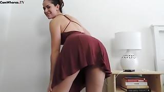 Big Ass,Big Boobs,Brunette,Pornstar,Solo,Strip,Webcams