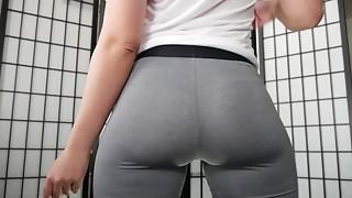 Anal,Big Ass,Brunette,Panties,Pornstar,Strip,Yoga