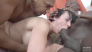 Amateur,Ass to Mouth,Big Ass,Big Cock,Black and Ebony,Blowjob,Brunette,Cumshot,Double Penetration,Grannies
