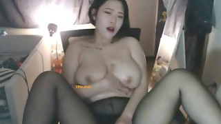 Amateur,Asian,Big Boobs,Brunette,Lingerie,Masturbation,Natural,Panties,Pantyhose,Sex Toys