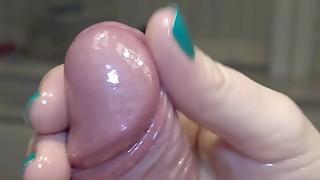 Amateur,Close-up,Cumshot,Fetish,Handjob,Oiled,POV,Sex Toys