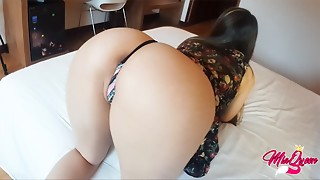 Amateur,Big Ass,Brunette,Couple,Creampie,Fucking,Petite,POV,School,Teen