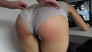 Amateur,Babe,Big Ass,Brunette,Couple,Fingering,Masturbation,Panties,Spanking,Teen