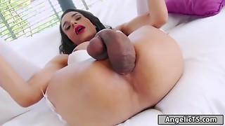 Anal,Big Ass,Big Cock,Brunette,Extreme,Fucking,Masturbation,Solo