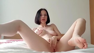 Amateur,BDSM,Czech,Fetish,Gagging,Fucking,Masturbation,Solo,Squirting,Teen