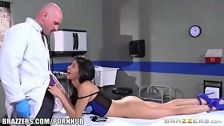 Babe,Big Boobs,Big Cock,Blowjob,Doctor,Foot Fetish,Fucking,Latina,Lingerie,Petite