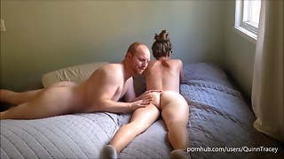 Amateur,Babe,Big Ass,Big Boobs,Big Cock,Blonde,Cumshot,Doggystyle,Glasses,Fucking