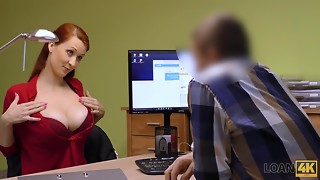Blowjob,Casting,Czech,Doctor,Money,Office,POV,Redhead,Teen,Uniform