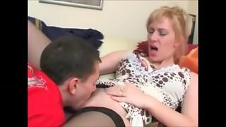 Blonde,Blowjob,Couple,Fucking,High Heels,Masturbation,Mature,MILF,Russian,Seduced