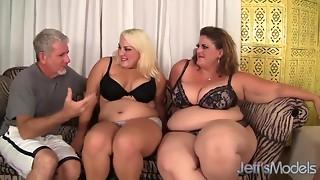 BBW,Black and Ebony,Blowjob,Chubby,Cumshot,Group Sex,Fucking,MILF