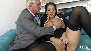 Anal,Ass licking,Babe,Beautiful,Big Boobs,Blowjob,Brunette,Doggystyle,Extreme,Fingering