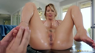 Anal,Beautiful,Big Ass,Big Boobs,Big Cock,Blowjob,Doggystyle,Foot Fetish,Fucking,Oiled