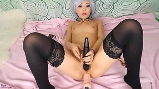 Amateur,Anal,Asian,Fetish,Machine,Masturbation,Petite,Sex Toys,Small Tits,Solo