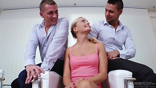 Amateur,Anal,Beautiful,Blonde,Double Penetration,Gangbang,Fucking,Threesome