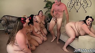 Outdoor,Fucking,Gangbang,Chubby,Group Sex,Big Boobs,BBW