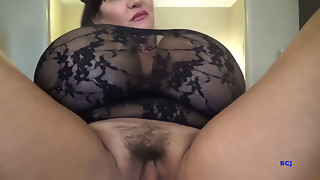 Big Ass,Big Boobs,Brunette,Fingering,Lingerie,Mature,MILF,Old and young,Slut,Stepmom