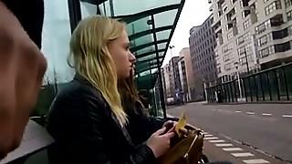 Amateur,Bus,Flashing,Public Nudity
