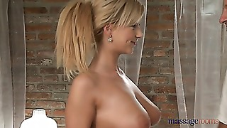 Big Ass,Big Boobs,Blonde,Czech,Massage