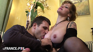 Anal,Blonde,Blowjob,Car Sex,Fucking,Lingerie,Mature,MILF,Old and young,Stepmom